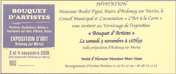 EXPOSITION D ART @ Salle polyvalente | Ardenay-sur-Mérize | Pays de la Loire | France